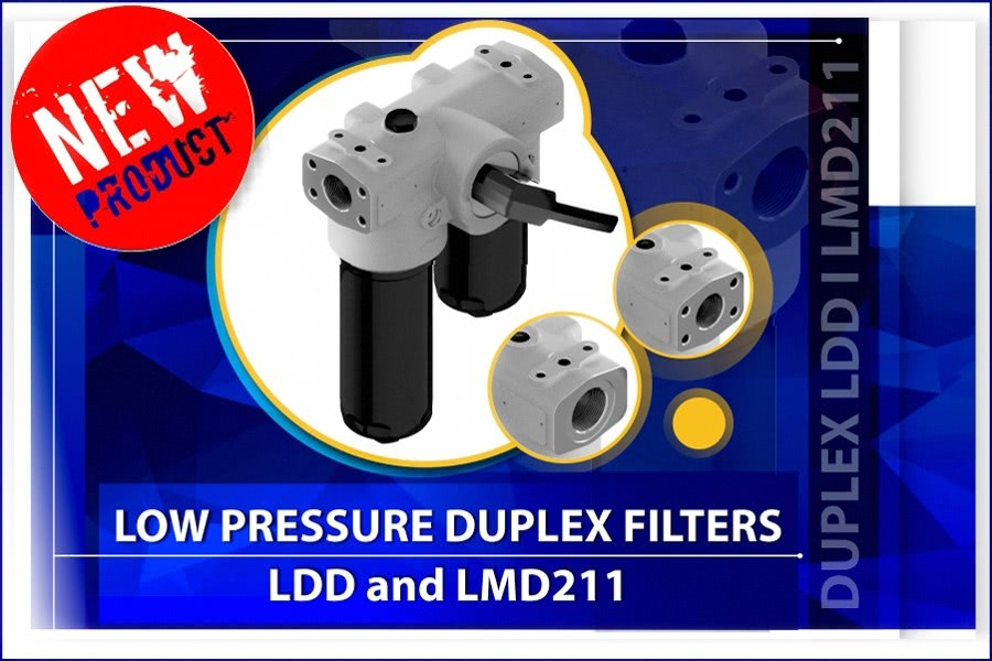 New! Duplex filters LDD and LMD211