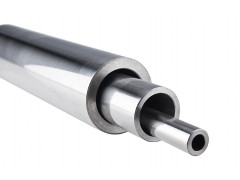 Bars and tubes for hydraulic cylinders
