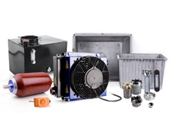 Components of power-packs and hydraulic systems