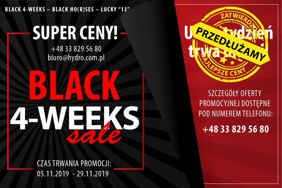 BLACK WEEK - SUPER CENY!